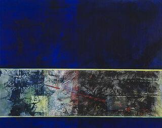 "Bild ""Ohne Titel"" (2008/2009) (Original / Unikat), auf Keilrahmen"
