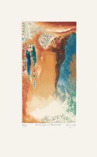 """Bild """"Landschaft mit Fundstück"""" (2007), ungerahmt"""