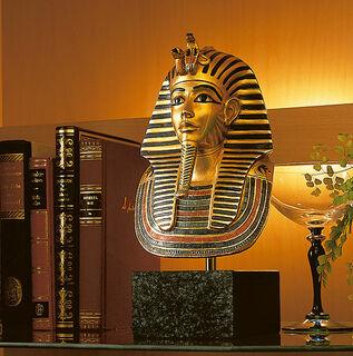 "Büste ""Goldmaske des Tutanchamun"" (Reduktion)"