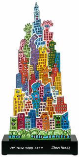 "Porzellanobjekt ""The City that never sleeps"""