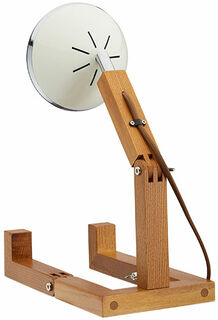 """Flexible LED-Tischlampe """"Mr. Volter"""", weiße Version"""