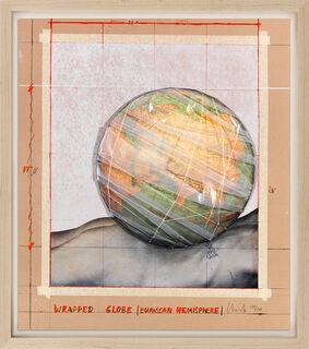"Bild ""Wrapped Globe (Eurasian Hemisphere)"" (2019)"
