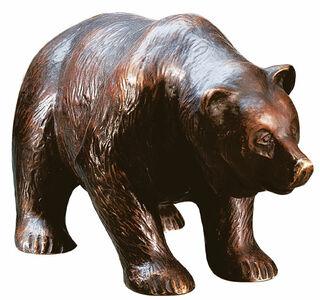 """Skulptur """"Bär"""", Version in Bronze"""