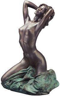 """Skulptur """"Nudo nuovo"""" (1992), Version in Kunstmarmor bronziert"""