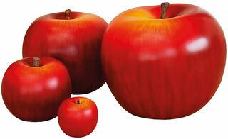 """Keramikobjekt """"Apfel rot"""" (Version Höhe 26 cm)"""