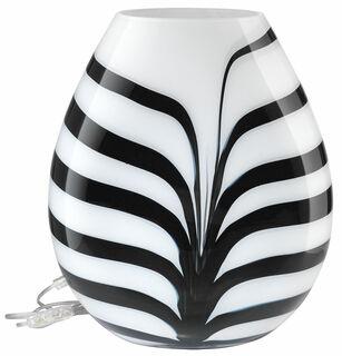 "Tischlampe ""Zebra"", Glas"