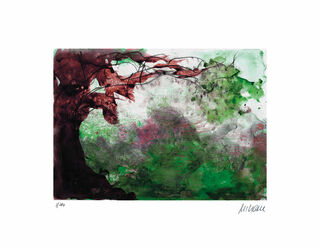 """Bild """"Baum im Sturm"""" (2019), ungerahmt"""