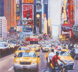 """Bild """"Times Square North"""", auf Keilrahmen"""