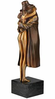 """Skulptur """"Amore"""", Version Bronze braun"""