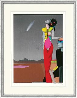 """Bild """"Sternstunde"""" (1997), gerahmt"""