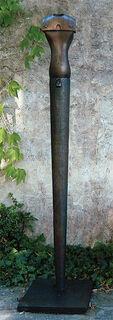 """Skulptur """"Große Hermesstele"""" (in Lebensgröße), Bronze"""