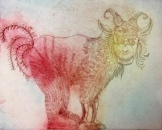 "Bild ""Goldsein"" (2019) (Unikat)"