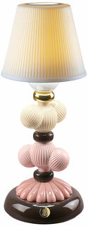 "Kabellose LED-Tischleuchte ""Cactus"", Porzellan handbemalt"