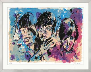 """Bild """"The Beatles (Twist and shout)"""" (2017), gerahmt"""