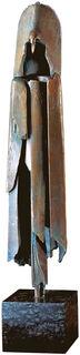 """Skulptur """"Der Schamane"""", Bronze"""