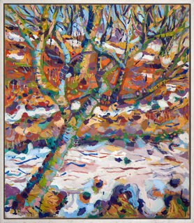 """Bild """"Essigbaum am Hügel"""" (1983) (Unikat)"""