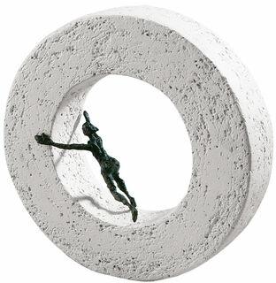 """Skulptur """"Die Dinge von innen bewegen"""", Bronze und Steinguss"""