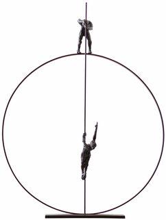 """Skulptur """"Spectacle"""", Bronze"""