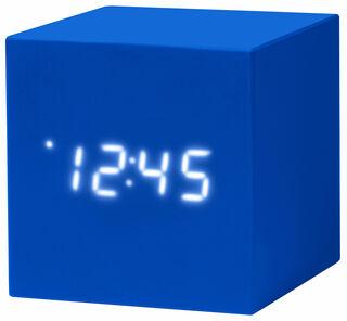 """LED-Tischuhr """"Color Cube blau"""" mit Alarmfunktion - MoMA Kollektion - Design Natalie Sun"""