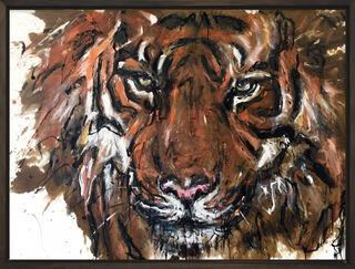 "Bild ""Tiger 2"" (2020) (Unikat)"