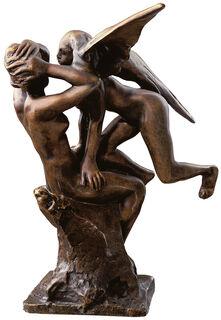 """Skulptur """"Ein Engel auf den Knien der Iris"""", Bronze"""