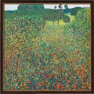 "Bild ""Feld mit Mohn"" (1905), gerahmt"