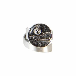 """Ring """"Grauer Mond"""""""