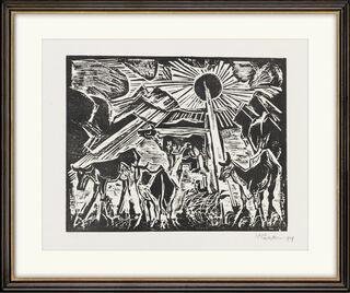 """Bild """"Der Abend"""" (1919)"""