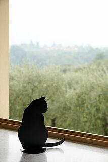 """Skulptur / Silhouette """"Ombre de chat II"""""""