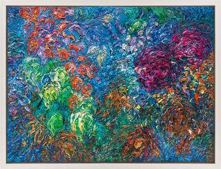 """Bild """"Im Garten des Künstlers"""" (2014) (Unikat)"""