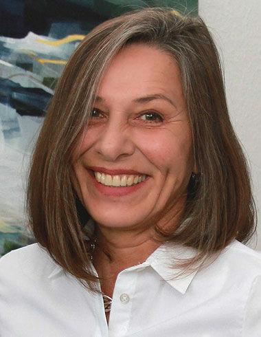 Porträt der Künstlerin Irina Laube