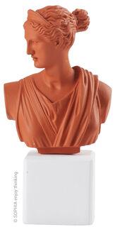 "Büste ""Artemis burned orange"""