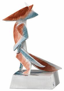 """Porzellanskulptur """"Reineke, der Fuchs"""" - nach Goethe"""