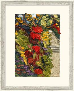 """Bild """"Garten Villa Liebermann III"""" (2014), gerahmt"""