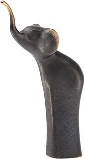 "Tierplastik ""Elefant"", Bronze"
