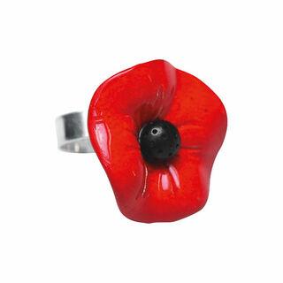 "Ring ""Mohnblütentraum"""