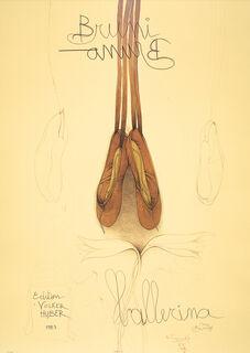"""Bild """"Ballerina"""" (1983), ungerahmt"""