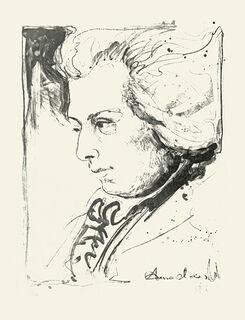 """Bild """"Mozart"""", ungerahmt"""