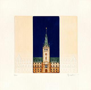 """Bild """"Rathaus"""", ungerahmt"""