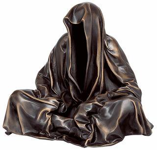 "Skulptur ""Guardians of Time - Mini Wächter"", Version in Bronze"