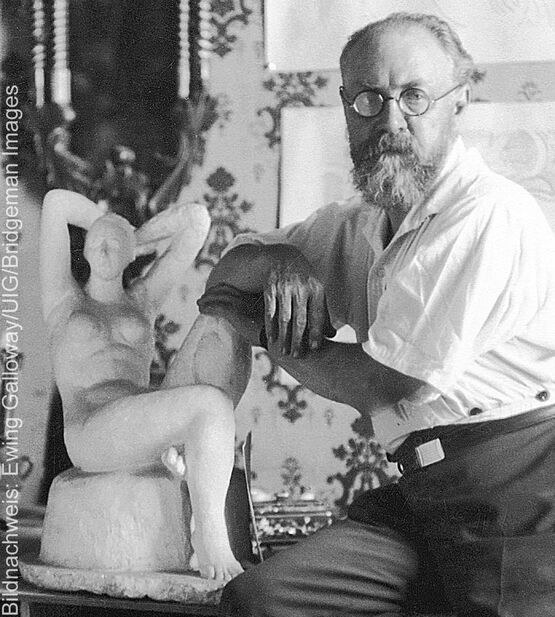Porträt des Künstlers Henri Matisse