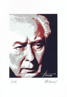 """Bild """"Theodor Heuss"""", ungerahmt"""