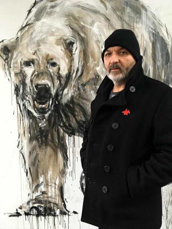 Porträt des Künstlers Ralf Koenemann