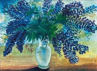 """Bild """"Blumenstrauß"""" (2001), ungerahmt"""