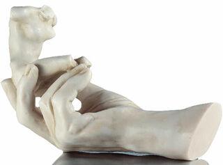 """Skulptur """"Die Hand Gottes"""" (1917), Version in Kunstmarmor"""