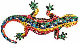 "Mosaikfigur ""El Gecko"""