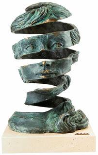 """Büste """"Imagination"""", Bronze"""