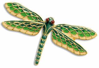 Libellenbrosche - nach Louis C. Tiffany