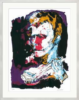 """Bild """"David Bowie"""" (2017), gerahmt"""