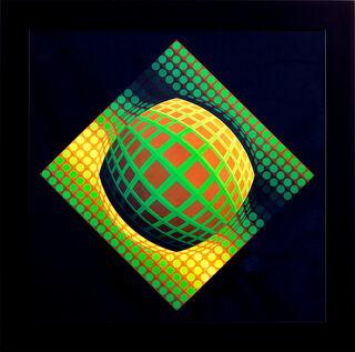 """Bild """"Vega-Zett-01"""", gerahmt"""